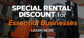 Special Rental for Essential Businesses